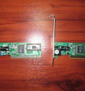 Сетевая карта Acorp L-100S PCI 10/100 Mbps Realtek RTL8139D
