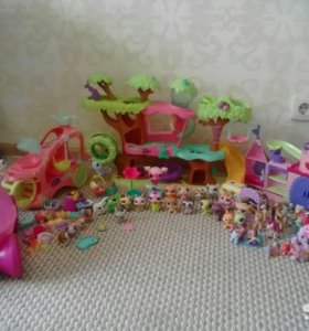 Игрушки для девочки little pets shop, пони