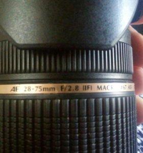 Объектив tamron 28-75 mm