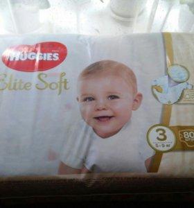 Подгузники Hugies Elite Soft
