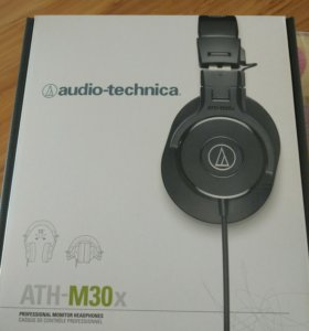 Новые наушники Audio - Technica ATH-M30x