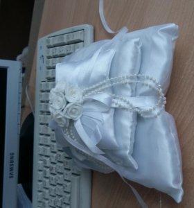 свадьба подушка для колец