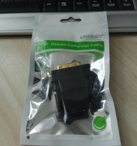 Переходник (адаптер) hdmi-DVI 24+1 Ugreen, новый