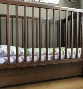 Детская кроватка б/у Гандылян Агнесса