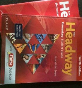 Учебник и рабочая тетрадь Headway