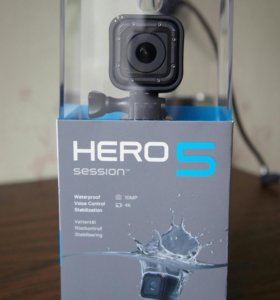 GoPro hero5 Session новая