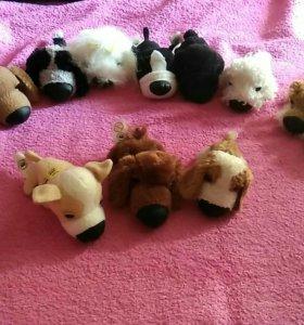 Плюшевые игрушки собаки