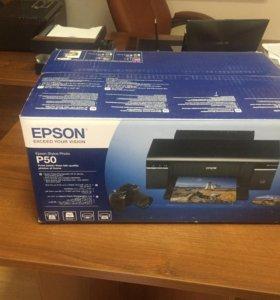 Фотопринтер Epson P50
