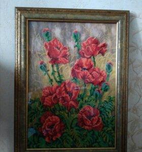 Картины бисером