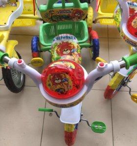 """Велосипед """"Черепаха и Львёнок"""""""