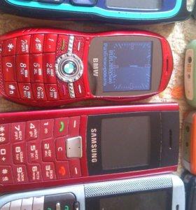Разноцветные Сотовые Телефоны