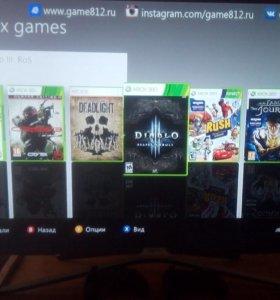 Xbox360 250гб freeboot