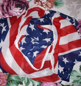 Шифоновый шарф