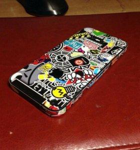 Дизайнерские наклейки на Iphone 5/5s