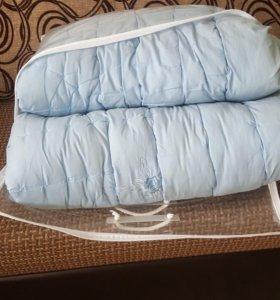 Шерстяное одеяло евро 200×220