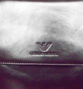 Аксессуар. Мужская сумка ARMANI через плечо