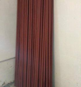 Столбы металлические d.48мм h-2,3м с крючками
