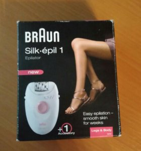 Эпилятор BRAUN Silk-epil 1.