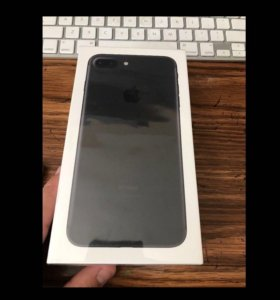 Новый iPhone 7 Plus Black