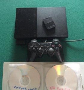 Игровая консоль 🎮SONY PlayStation2 комплект+диски