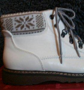 Зимние ботинки 41 (на 40)