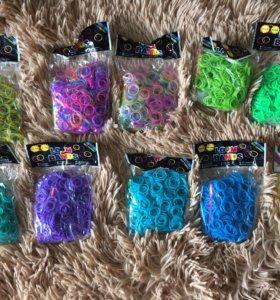 Резиночки для плетения 600 шт в упаковке
