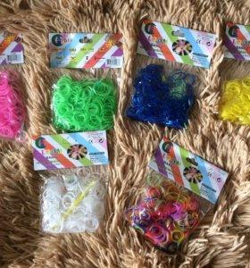 Резиночки для плетения 300 шт в упаковке