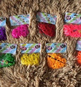 Резиночки для плетения 200 шт в упаковке