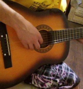 Гитара Alina+чехол