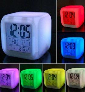 Новые будильники изменяющие цвет.