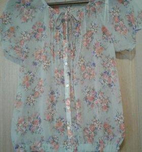 Zara блузка размер М