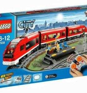 Поезд lego city 7938