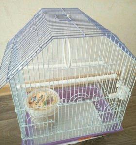 Продам новую клетку для попугаев