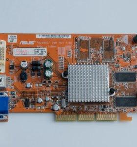Видеокарта ASUS A9200SE 128 Mb