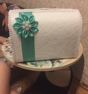 Свадебная коробочка для конвертов