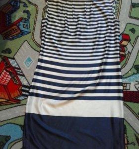 Платье в морском стиле.Новое.