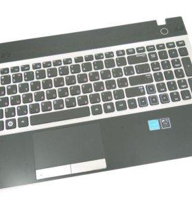 Клавиатура Samsung NP300V5A с топкейсом с тачпадом