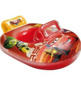 Лодка надувная Тачки 90×65см новая