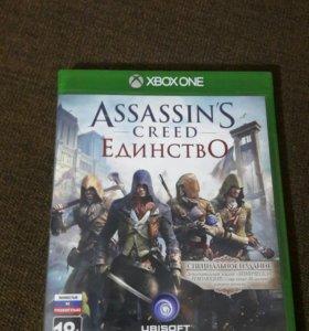 Продам Assassins Creed Единство Xbox One