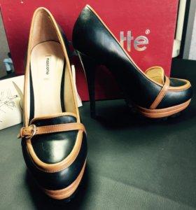 Туфли mascotte (нат. кожа)