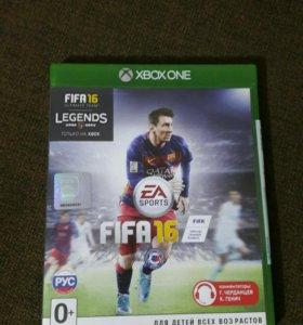 Продам FIFA 16 Xbox one