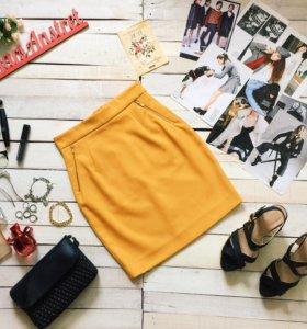 Новая юбка карандаш H&M