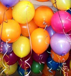 Надувные шары . Надую шары гелием !