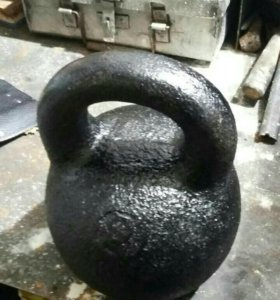 Гиря 24 кг и 32кг