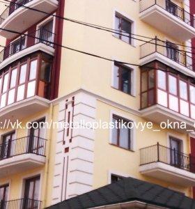 Окна, двери, балконы под ключ