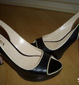 Туфли prada calzature donna