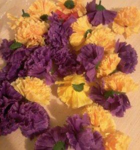 Бутоны цветов искусственных
