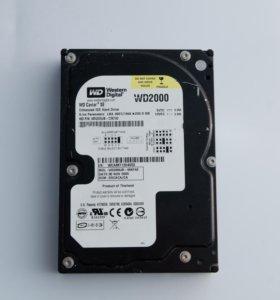 Жесткий диск Western Digital 200 Gb