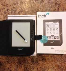 Новая электронная книга Inch S6t