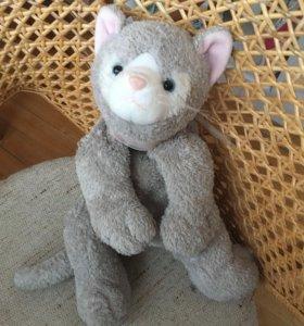 Игрушка кошка с бантиком